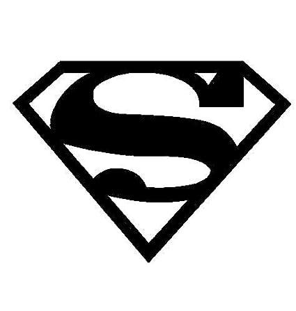 Amazon Superman Decal Sticker Automotive