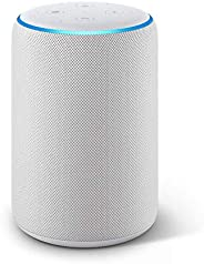 Certified Refurbished Echo Plus (2nd Gen) - Premium sound with built-in smart home hub - Sandstone
