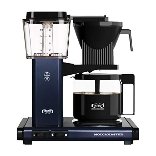 Technivorm Moccamaster KBG Coffee Brewer, 40 oz, Midnight Blue