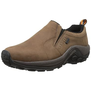 Merrell Men's Jungle Moc Nubuck Waterproof Slip-On Shoe (2 Color Options)