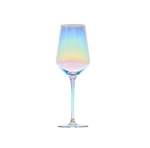 Rainbow Goblet, cristal sin plomo, seguro y saludable, apto para ...