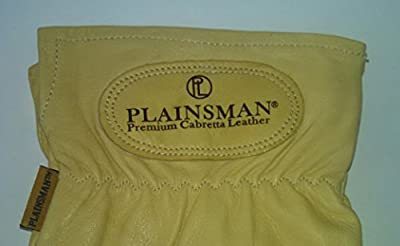 Plainsman Goatskin Cabretta Leather Gloves S-XL