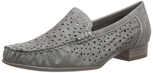 Jenny WoMen Atlanta Mocassins Grey - Grau (Grigio 05)
