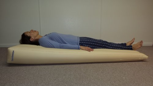 Inflatable Bed Wedge Relieves Symptoms Of Acid Reflux