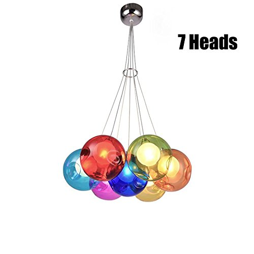 Bright Coloured Pendant Lights