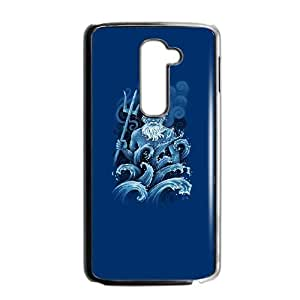 LG G2 Phone Case Covers Black Poseidon FND Phone Case Clear Generic