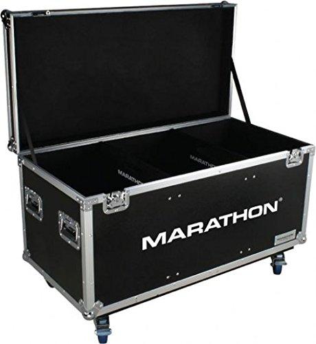 Marathon Flight Road Case MATUT603724W Utility Trunk Case with Caster Kit and Stackable Caster Dish by Marathon