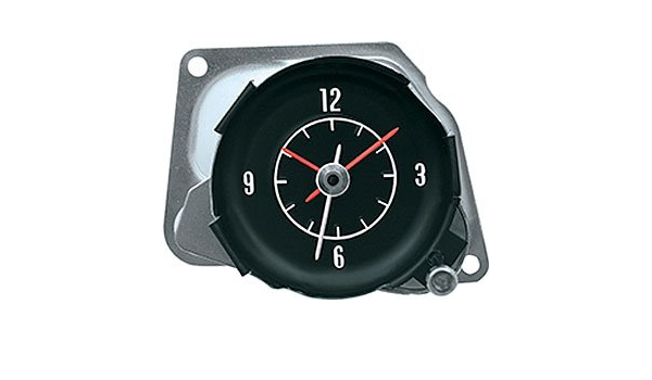 1972-74 Corvette In Dash Clock With White Markings