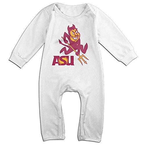 Dadada Newborn Arizona State University ASU Long Sleeve Jumpsuit Outfits 6 M