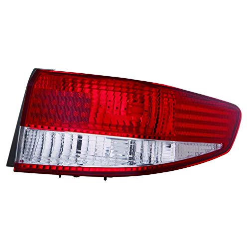 HEADLIGHTSDEPOT Replacement Fits Tail Light Right Passenger Body mounted w/o bulbs or sockets Fits 2003-2004 Honda Accord 4Dr Sedan