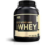 OPTIMUM NUTRITION GOLD STANDARD 100% Whey Protein Powder, Naturally Flavored, 2.2 kg