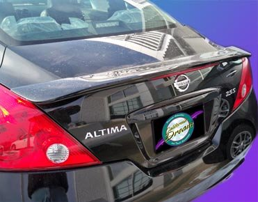 Nissan Altima Coupe Rear Spoiler 2008 2009 2010 2011 2012   Ghost Style    Painted