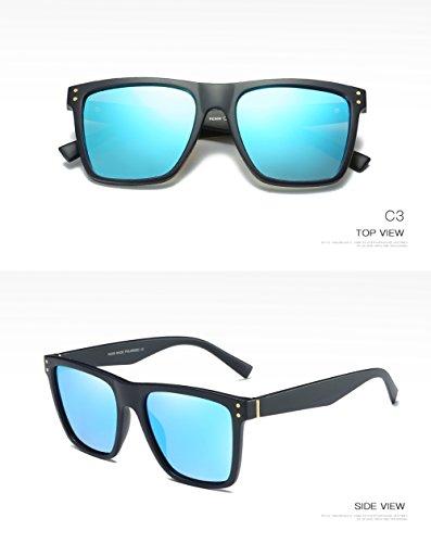Hombre UV para Mujer Polarizadas para De Gafas C1 Aviator Sol C2 Protección 400 Ww0qRTn4F