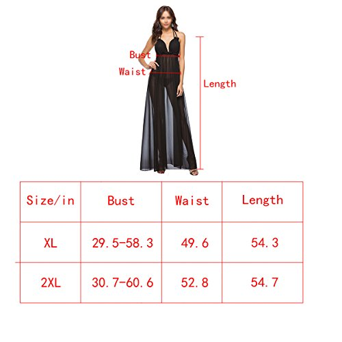 Women's Dress XL Beach Aisa Off Shoulder Chiffon Split Halter Maxi Neck Sexy Party Backless V Sleeveless Aw6qdwZ