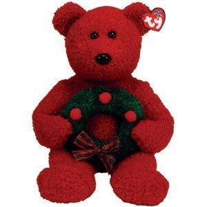 2006 Holiday Teddy - TY Beanie Buddies 2006 Holiday Teddy by Ty