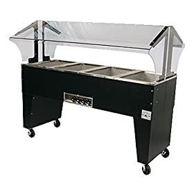 Advance Tabco B4-240-B 240 V 62-7/16″W Electric Portable Hot Food Buffet Table