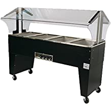 "Advance Tabco B4-240-B 240 V 62-7/16""W Electric Portable Hot Food Buffet Table"