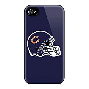 Special Design Back Chicago Bears 5 Phone Case Cover For Iphone 4/4s