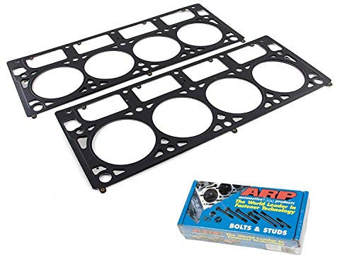 Fel Mls Gaskets Head Pro - 2004-UP 5.3 L Fel-Pro MLS HEAD GASKETS & ARP CYLINDER HEAD BOLT KIT compatible with GM CHEVY LS series