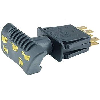 John Deere Original Equipment Switch #AM135131 on x748 wiring diagram, x475 wiring diagram, x540 wiring diagram, gx345 wiring diagram, z445 wiring diagram, x324 wiring diagram, x360 wiring diagram,