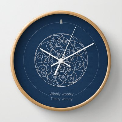 Wibbly Wobbly Clock