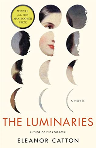 book cover of The Luminaries