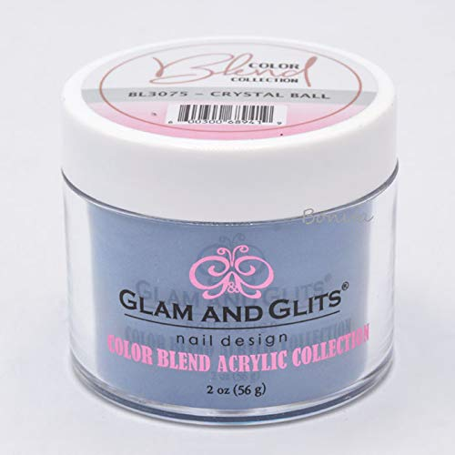 Glam & Glits Dipping Powder Color Blend Collection BL3075 Crystal Ball 2 -