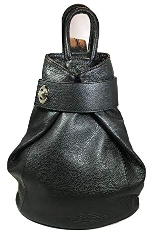 LaGaksta Stella Italian Leather Backpack Purse and Shoulder Bag