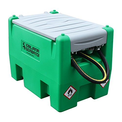 rtable Fuel Tank Gasoline (58 gallons) Cover Included ()