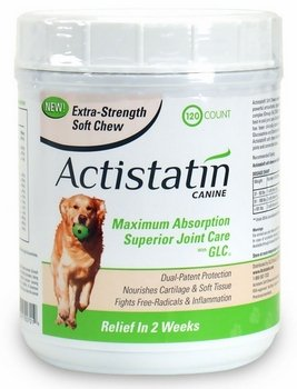 Actistatin Canine Extra Strength Soft Chews Large (120 ct) from GLC Direct