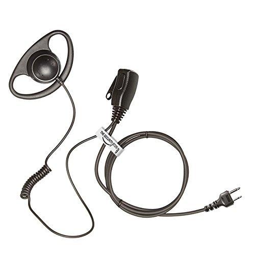ICOM Radio D-Shape Earpiece / Headset with HQ PTT Microphone