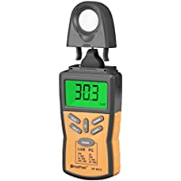 Holdpeak 881C Digital Illuminance/Light Meter with Peak Hold, Lux/FC Unit, Data Hold and Backlight Range Up to 200,000Lux - The Most High Accurate Luminometer available! (CE,ISO,ROHS,GMC)