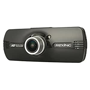 """Rexing F9 2.7"""" LCD FHD 1080p 170° Wide Angle Car Dashboard Camera Recorder Dash Cam with G-Sensor, WDR, Night Vision, Motion Detection…"""