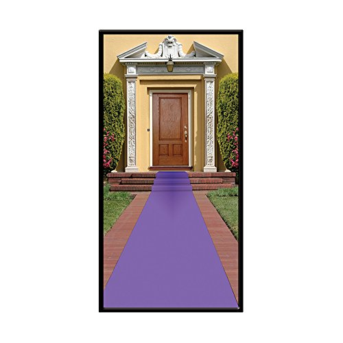 Beistle Carpet Runner 24in Purple product image