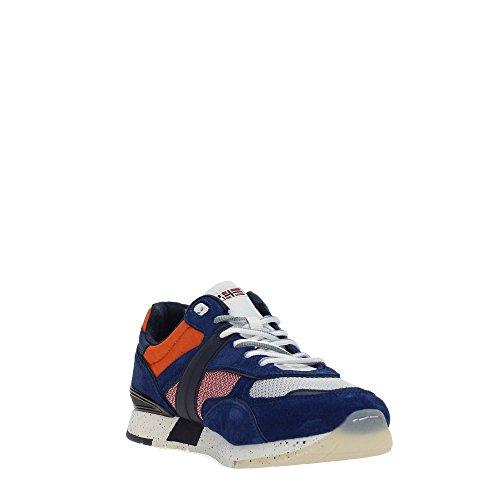 Napapijri Blue Rabari Mehrfarbig Multi flag Uomo Sneaker 7qxzwnFp7r