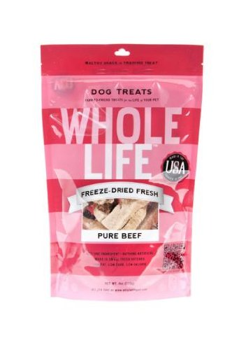 Whole Life Pet Pure Meat All Natural Freeze Dried Beef Filet Treats 4 oz, My Pet Supplies