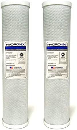 Hydronix CB-45-2005 Whole House Commercial /& Industrial NSF Coconut Carbon Block Water Filter 4.5 x 20-5 Micron