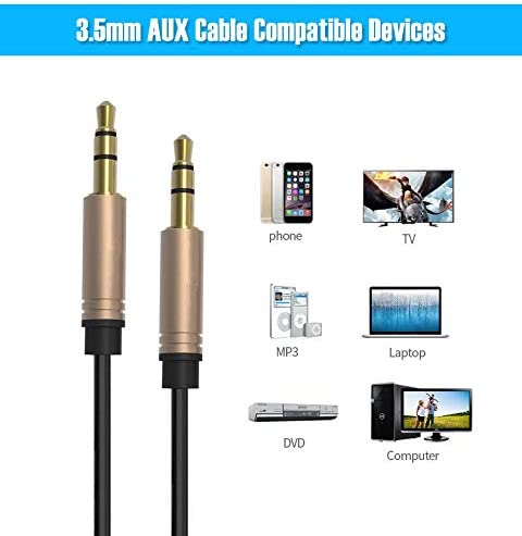 FYL 3.5mm 1//8 Audio Cable Car AUX Cord for Sony Walkman NWZ MP3 MP4 Media Player