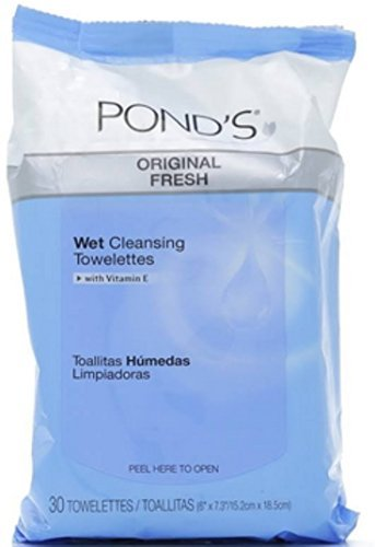 Ponds Wet Cleansing Towelettes, Original Clean, 30 ea by Ponds