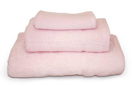 Baby Pink 3pc 450gsm Turkish Towel Bale Towelsdirect