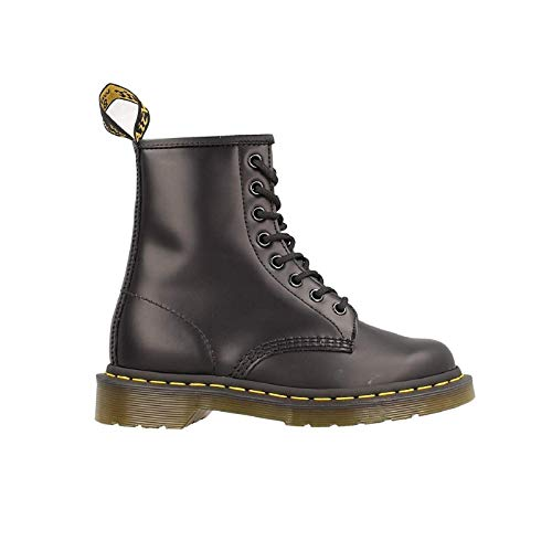 Dr. Martens 1460 Originals 8 Eye Lace Up Boot, Black Smooth Leather, 11UK / 12 US Mens, 46 EU