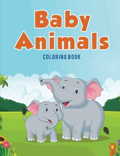 baby animals coloring book - 8