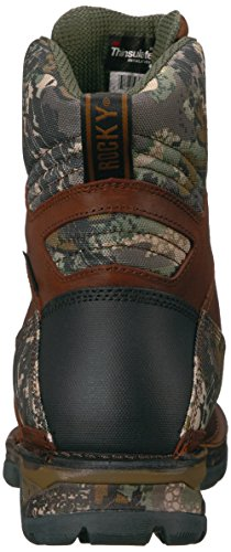 Rocky Mid Men's Camoflauge Rks0319 Brown Boot Calf wOZ0q8wC