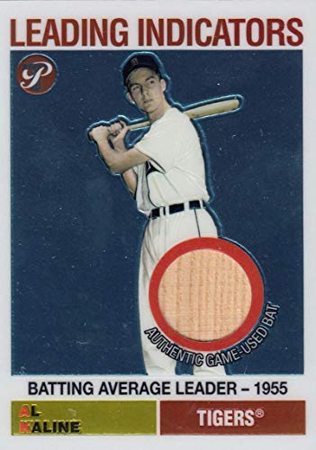 2005 Pristine Legends Leading Indicators Relics #AK Al Kaline Bat NM-MT+ MEM Detroit Tigers from Pristine Legends
