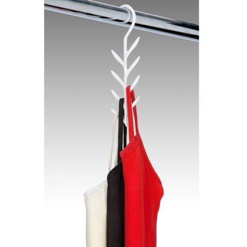 3 Pack PERFECT CURVE Closet CAMISOLE Belt CAMI Necklace Hanger ORGANIZER Rack