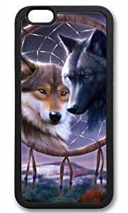 Dreamcatcher wolf Thanksgiving Halloween Fashionable Black Case for iphone 6 New Diy Design High-end Custom by CP_T case
