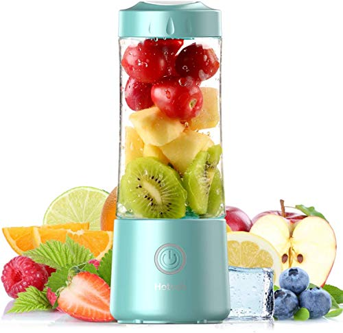 2021-Hotsch-Portable-Blender-135-Oz-Personal-Size-Juicer-Cup-for-Smoothies-and-Shakes-USB-Rechargeable-with-Six-Blades-for-Sports-Travel-and-Outdoors-Blue