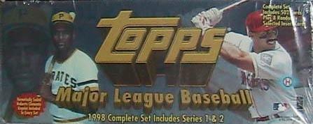 1998 Topps Baseball Card Set Set - MLB Cards