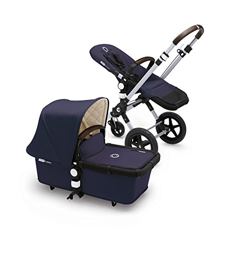 Bugaboo Cameleon3 Classic+ Complete Stroller, Navy Blue - Versatile, Foldable Mid-Size Stroller with Adjustable Handlebar, Reversible Seat and Car Seat Compatibility