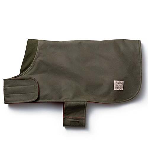 Shelter Cloth Dog Coat (Otter Green, X-Large) 90100